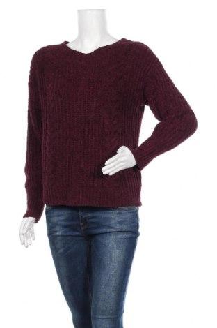 Дамски пуловер Express, Размер S, Цвят Червен, Полиестер, Цена 23,94лв.
