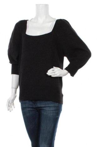 Дамски пуловер Express, Размер L, Цвят Черен, 65% акрил, 24% полиестер, 11% полиамид, Цена 16,17лв.