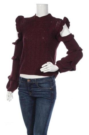 Дамски пуловер Express, Размер XS, Цвят Червен, 55% памук, 35% вискоза, 10% полиамид, Цена 11,76лв.