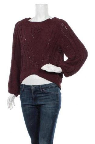 Дамски пуловер Express, Размер XS, Цвят Червен, Полиестер, Цена 18,27лв.