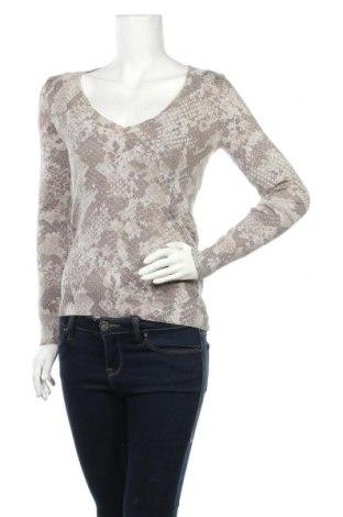 Дамски пуловер Express, Размер S, Цвят Бежов, 55% памук, 19% полиамид, 17% полиестер, 9% метални нишки, Цена 12,29лв.