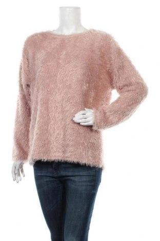 Дамски пуловер Free Quent, Размер L, Цвят Розов, Полиестер, Цена 17,64лв.