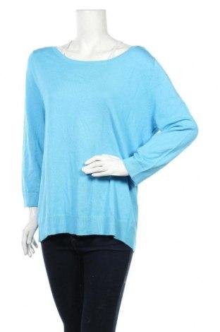 Дамски пуловер Gabor, Размер XL, Цвят Син, 70% вискоза, 30% полиамид, Цена 21,00лв.