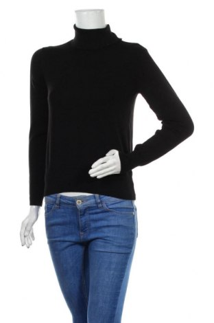 Pulover de femei H&M, Mărime S, Culoare Negru, 70% viscoză, 30% poliamidă, Preț 42,93 Lei