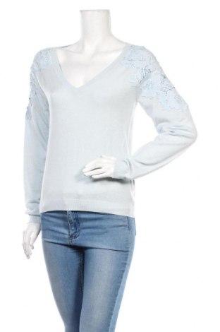 Дамски пуловер Marciano, Размер L, Цвят Син, 55% полиамид, 30% вълна, 15% акрил, Цена 89,57лв.