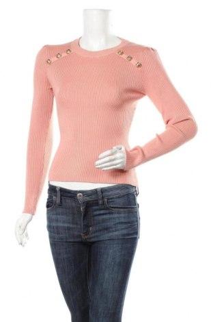 Дамски пуловер Marciano, Размер L, Цвят Розов, 85% вискоза, 14% полиамид, 1% еластан, Цена 94,34лв.