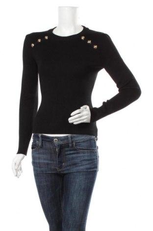 Дамски пуловер Marciano, Размер L, Цвят Черен, 85% вискоза, 14% полиамид, 1% еластан, Цена 94,34лв.
