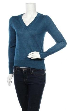 Дамски пуловер North Sails, Размер XS, Цвят Син, 100% вълна, Цена 55,60лв.