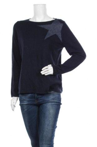 Dámský svetr S.Oliver, Velikost M, Barva Modrá, 45% viskóza, 30% polyamide, 20% bavlna, 5% vlna, Cena  487,00Kč