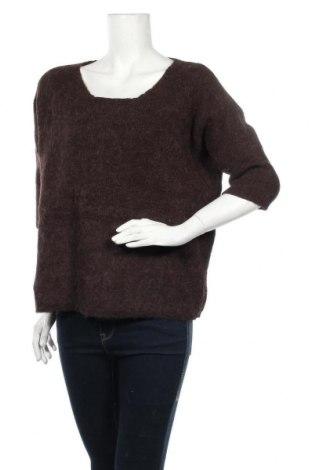 Дамски пуловер Soaked In Luxury, Размер M, Цвят Кафяв, 30% вълна от алпака, 25% вълна, 25% полиамид, 20% акрил, Цена 8,40лв.