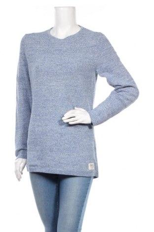 Γυναικείο πουλόβερ Tom Tailor, Μέγεθος M, Χρώμα Μπλέ, Βαμβάκι, Τιμή 20,92€