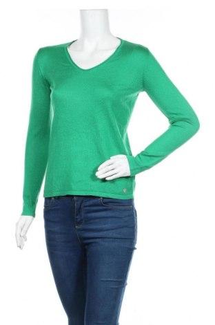 Γυναικείο πουλόβερ Tom Tailor, Μέγεθος S, Χρώμα Πράσινο, 65% πολυεστέρας, 35% βισκόζη, Τιμή 17,93€