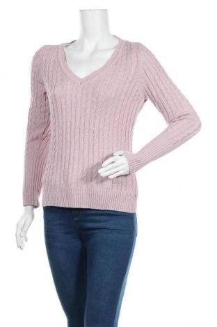 Γυναικείο πουλόβερ Tom Tailor, Μέγεθος M, Χρώμα Ρόζ , Βαμβάκι, Τιμή 10,46€
