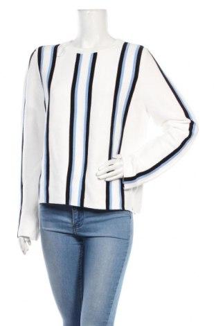 Pulover de femei Tom Tailor, Mărime L, Culoare Alb, Bumbac, Preț 91,78 Lei