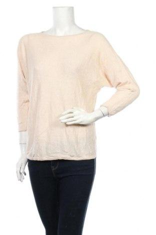 Дамски пуловер Tom Tailor, Размер S, Цвят Бежов, 55% лен, 45% памук, Цена 13,80лв.