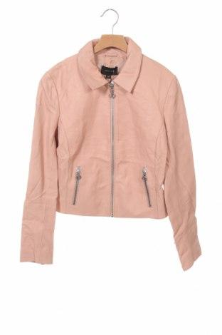 Dámská kožená bunda  Comma,, Velikost XS, Barva Růžová, Pravá kůže, Cena  2277,00Kč