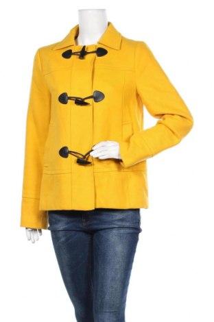 Γυναικείο παλτό Banana Republic, Μέγεθος M, Χρώμα Κίτρινο, Βαμβάκι, Τιμή 20,23€