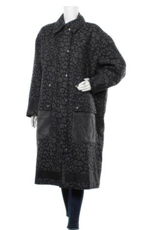Palton de femei Diesel, Mărime S, Culoare Negru, 60% lână, 35% poliester, 5% poliamidă, Preț 1.236,25 Lei