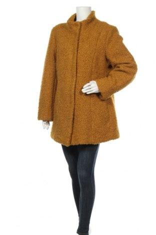 Дамско палто Mainpol, Размер XL, Цвят Жълт, Полиестер, Цена 43,68лв.