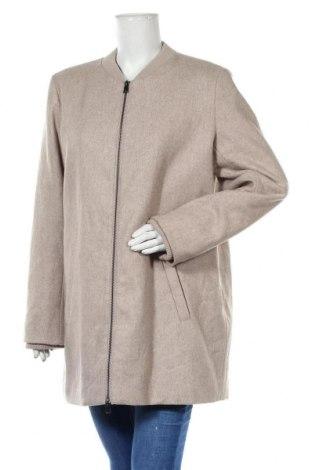 Dámský kabát  Street One, Velikost XL, Barva Béžová, 51% vlna, 49% polyester, Cena  408,00Kč