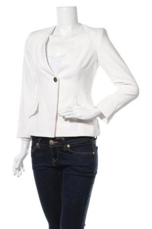 Dámské sako  Zara, Velikost S, Barva Bílá, Acetát , Cena  488,00Kč