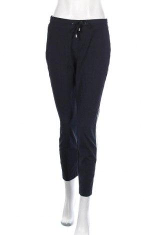 Pantaloni trening de femei Comma,, Mărime S, Culoare Albastru, 63% poliester, 32% viscoză, 5% elastan, Preț 118,32 Lei