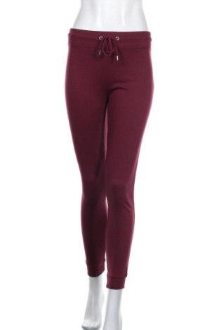 Pantaloni trening de femei Lefties, Mărime S, Culoare Roșu, 58% poliester, 42% bumbac, Preț 55,16 Lei