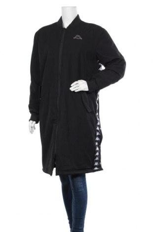 Дамско яке Kappa, Размер M, Цвят Черен, 96% полиестер, 4% еластан, Цена 54,44лв.