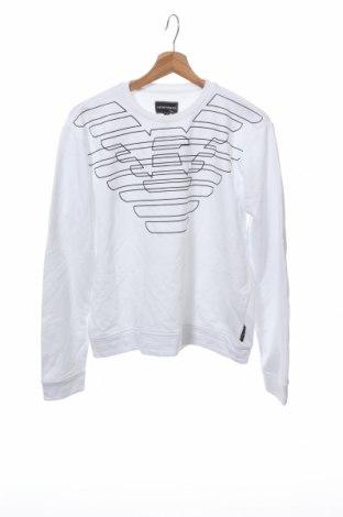 Παιδική μπλούζα Emporio Armani, Μέγεθος 15-18y/ 170-176 εκ., Χρώμα Λευκό, 88% βαμβάκι, 12% πολυεστέρας, Τιμή 34,41€