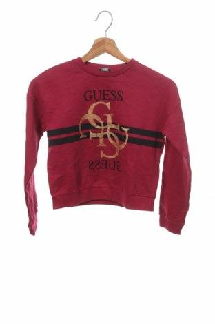 Bluză pentru copii Guess, Mărime 9-10y/ 140-146 cm, Culoare Roz, Bumbac, Preț 87,34 Lei