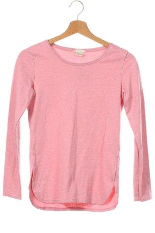 Детска блуза H&M, Размер 10-11y/ 146-152 см, Цвят Розов, 81% памук, 18% полиестер, 1% вискоза, Цена 18,90лв.