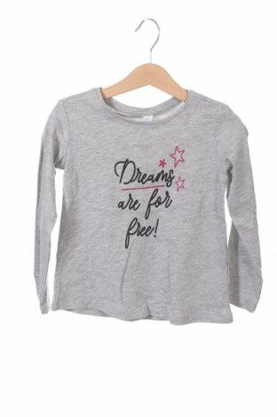 Детска блуза Lefties, Размер 3-4y/ 104-110 см, Цвят Сив, 90% памук, 10% вискоза, Цена 9,28лв.