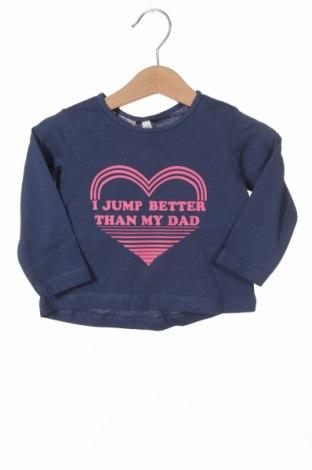 Детска блуза Lefties, Размер 3-6m/ 62-68 см, Цвят Син, 100% памук, Цена 7,25лв.