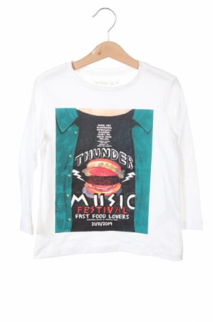 Bluză pentru copii Lefties, Mărime 3-4y/ 104-110 cm, Culoare Alb, 100% bumbac, Preț 25,26 Lei