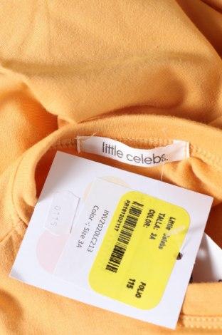 Детска блуза Little Celebs, Размер 2-3y/ 98-104 см, Цвят Оранжев, 96% памук, 4% еластан, Цена 36,75лв.