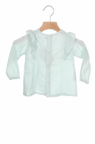 Детска блуза Lola Palacios, Размер 12-18m/ 80-86 см, Цвят Зелен, Памук, Цена 29,25лв.