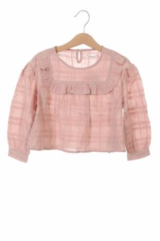 Детска блуза Lola Palacios, Размер 18-24m/ 86-98 см, Цвят Розов, Памук, Цена 9,75лв.