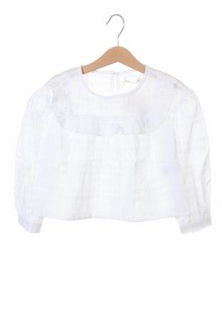 Детска блуза Lola Palacios, Размер 18-24m/ 86-98 см, Цвят Бял, Памук, Цена 9,75лв.