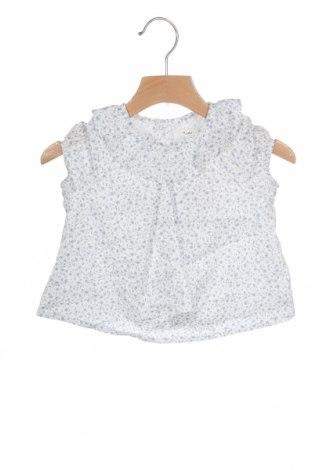 Детска блуза Lola Palacios, Размер 9-12m/ 74-80 см, Цвят Бял, Цена 8,50лв.