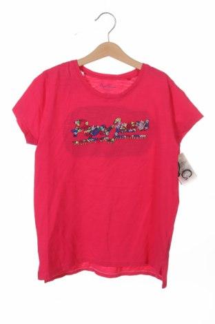 Детска блуза Pepe Jeans, Размер 10-11y/ 146-152 см, Цвят Розов, Памук, Цена 14,10лв.