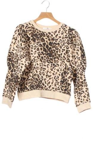 Детска блуза Zara, Размер 8-9y/ 134-140 см, Цвят Бежов, 98% памук, 2% еластан, Цена 11,81лв.