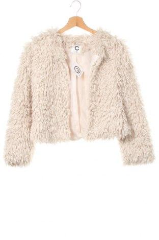 Детско палто Cubus, Размер 12-13y/ 158-164 см, Цвят Бежов, Полиестер, Цена 11,03лв.