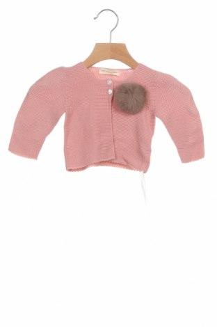Παιδική ζακέτα Lola Palacios, Μέγεθος 9-12m/ 74-80 εκ., Χρώμα Ρόζ , Βαμβάκι, Τιμή 7,58€