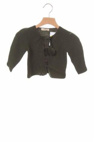 Pulover cu nasturi pentru copii Lola Palacios, Mărime 18-24m/ 86-98 cm, Culoare Verde, Preț 30,26 Lei