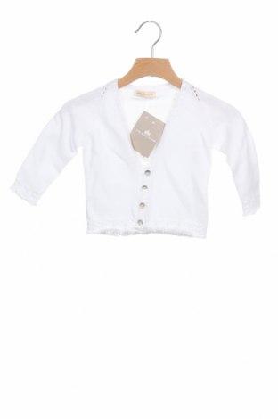 Pulover cu nasturi pentru copii Lola Palacios, Mărime 9-12m/ 74-80 cm, Culoare Alb, Bumbac, Preț 145,56 Lei