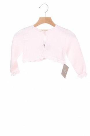 Pulover cu nasturi pentru copii Lola Palacios, Mărime 18-24m/ 86-98 cm, Culoare Roz, Bumbac, Preț 30,40 Lei