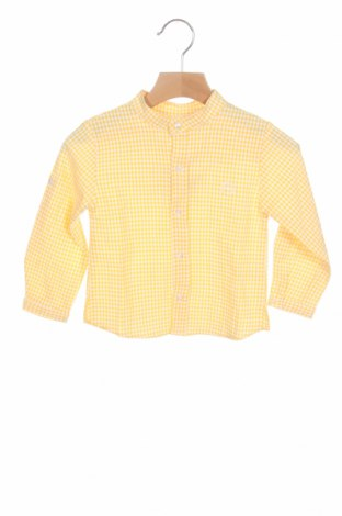 Детска риза Lola Palacios, Размер 18-24m/ 86-98 см, Цвят Бял, 60% памук, 40% полиестер, Цена 12,25лв.
