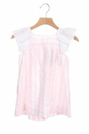 Детска рокля Lola Palacios, Размер 12-18m/ 80-86 см, Цвят Бял, 50% памук, 50% полиестер, Цена 12,74лв.