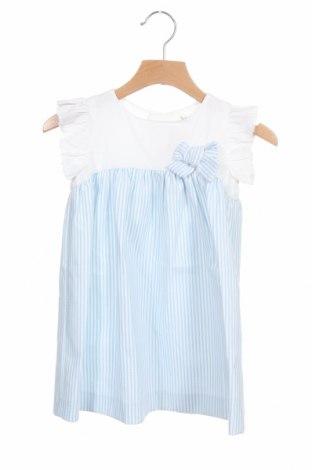 Детска рокля Lola Palacios, Размер 12-18m/ 80-86 см, Цвят Син, Памук, Цена 16,74лв.