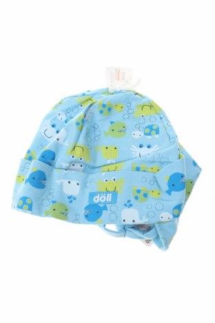 Dziecięca czapka Doll, Kolor Niebieski, 95% bawełna, 5% elastyna, Cena 18,12zł